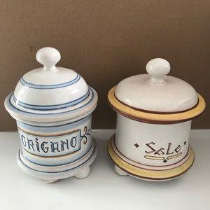 Lavorazione A Mano Spice Jars